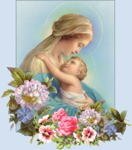 virgen y baby jesus