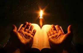 orando de noche
