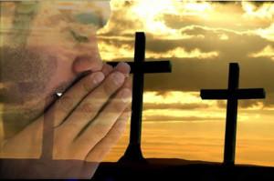 orando de tarde