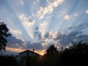 sol naciente bello