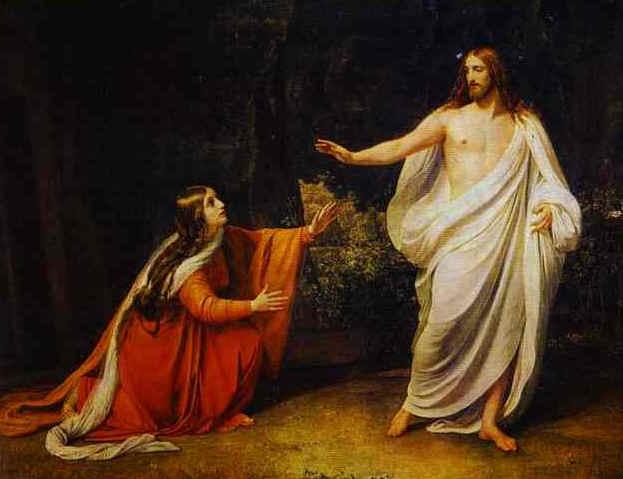 Maria Magdalena y Jesus