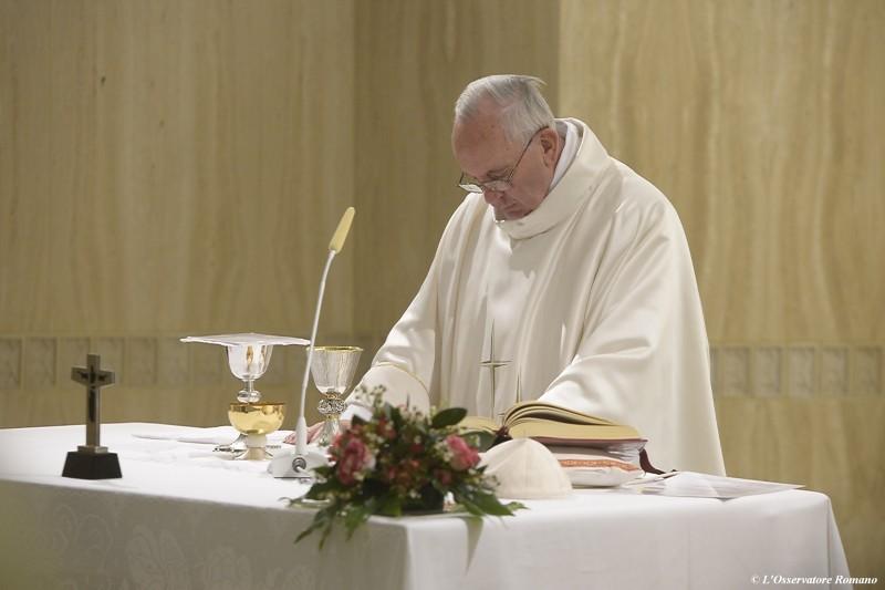 papa en santa martha
