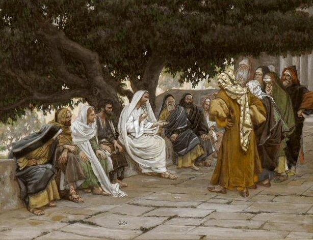 Saduceus perguntam a Jesus (Saduccees question)