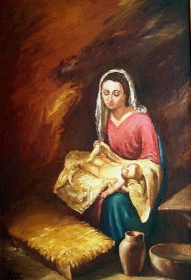 MARIA Y JESUS NIÑO