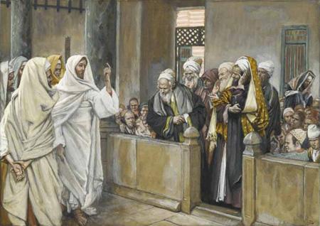 con los fariseos