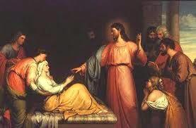 jesus Lucas 4,38-44