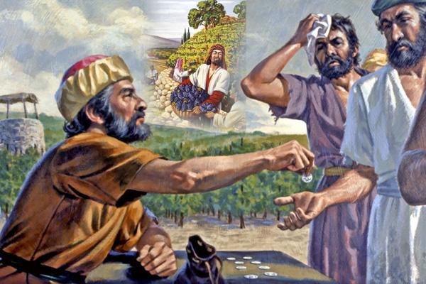trabajadores de la viña